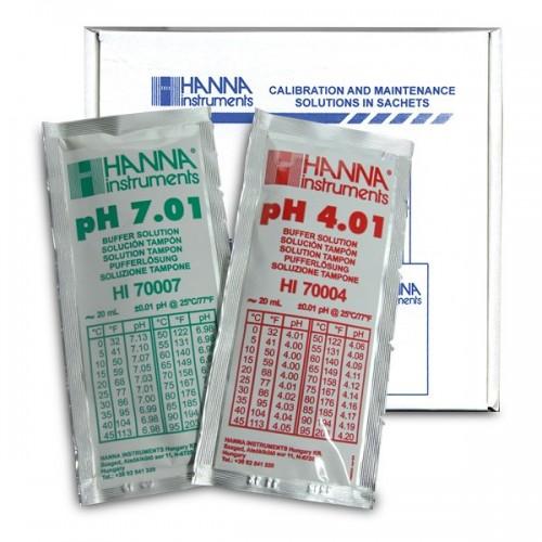 HI-77400P pH Combination Buffer Solution Kit